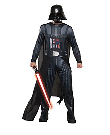 BuySeason Men's Star Wars H/S Darth Vader Costume