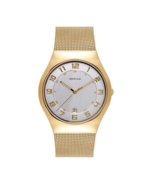 Women's Classic Gold-Tone Stainless Steel Mesh Bracelet Watch 37mm