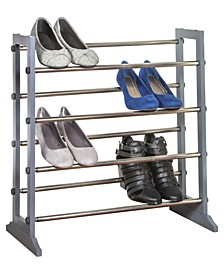 Free-Standing 4 Tier Shoe Rack