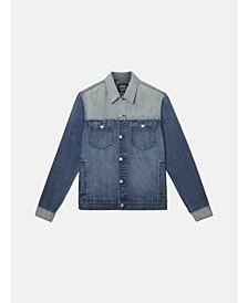 Denim Jacket Indigo Block