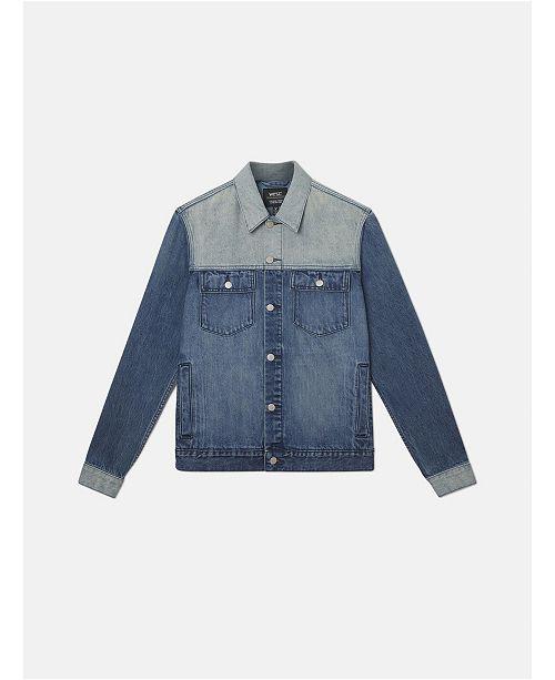 WeSC Denim Jacket Indigo Block