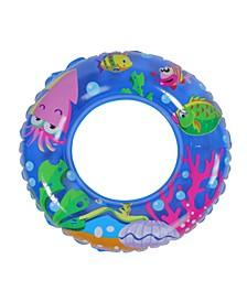 "24"" Inflatable Sea Fish Children's Swimming Pool Inner Tube Ring Float"