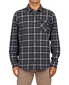 Rip Curl Men's Juanico Yarn-Dyed Plaid Flannel Shirt