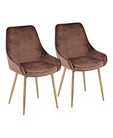 Diana Dining Chair, Set of 2