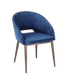 Renee Copper Metal Chair