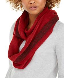 Lurex Stripe Warp Knit Loop