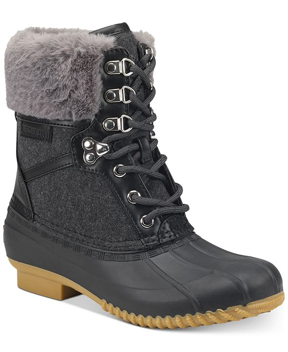 Tommy Hilfiger Rian Lace-Up Winter Boots