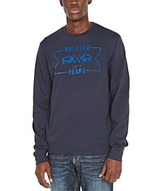 Men's Facory Regular-Fit Fleece Logo Sweatshirt