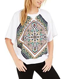 Paisley Raglan Sweatshirt, Created For Macy's