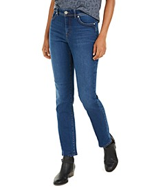 Tummy-Control Straight-Leg Jeans, Created for Macy's