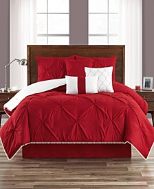 Pom-Pom Twin XL 5 Piece Comforter Set