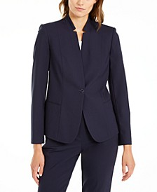 Tori Star-Collar Blazer
