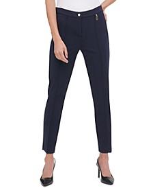 Front-Seam Skinny Pants