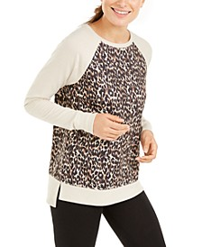 Leopard-Print Sweatshirt, Created for Macy's