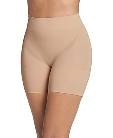 Women's Slimmers Breathe Mid-Rise Mid-Length Shorts 4238