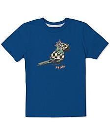 Toddler & Little Boys Parrot-Print Cotton T-Shirt