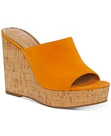 Shantelle Slide Wedge Sandals
