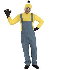 Men's Minions Kevin - Jumpsuit Costume