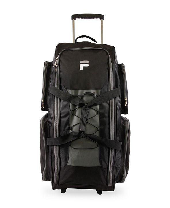 Fila Lightweight Rolling Duffel Bag Collection