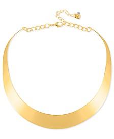 """14"""" Necklace, Half-Moon Collar Necklace"""