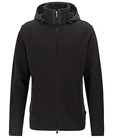 BOSS Men's Shepherd 18 Hooded Zip-Through Sweatshirt