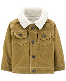 Baby Boys Fleece-Lined Corduroy Jacket