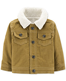 Carter's Baby Boys Fleece-Lined Corduroy Jacket