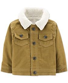Carter's Baby Boys Fleece-Lined Corduroy Jacket