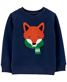 Baby Boys Fox Fleece Sweatshirt