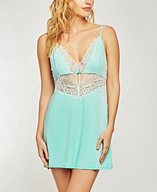 Elegant Modal Knit Chemise Nightgown, Online Only