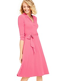 3/4-Sleeve Midi Dress, Created for Macy's