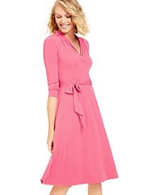 3/4-Sleeve Midi Dress, Created for Macy's