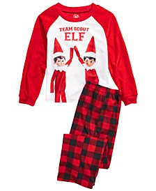 Little & Big Boys 2-Pc. Fleece Elf Pajamas Set