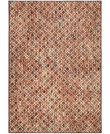 "Alexandria Small Damask Multi 5'1"" x 7'6"" Area Rug"