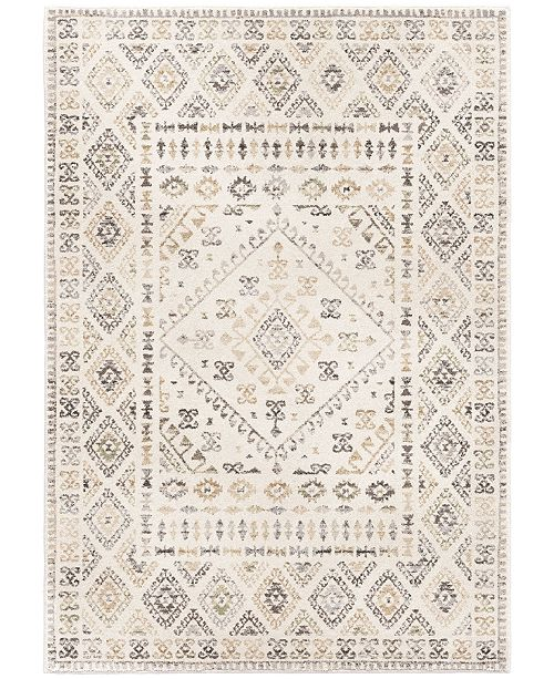 Palmetto Living Riverstone Tobruk Soft White 9 'x 13' Area Rug