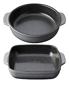 Gem Collection Stoneware 2-Pc. Small Baking Dish Set