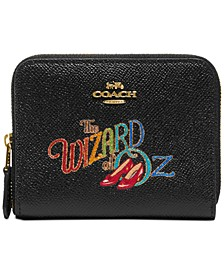 Wizard of the Oz Small Zip-Around Leather Wallet