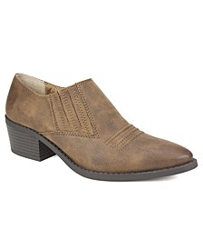 Carroll Western Booties