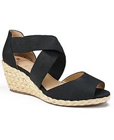 Hudlin Espadrille Wedge Sandals