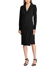 Jersey Long-Sleeve Dress