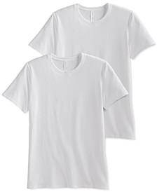 Men's 2-Pk. MaxStretch Crew Neck T-Shirts
