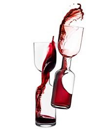 Clear Wine Bottle - Set of 2