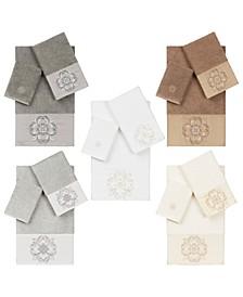 100% Turkish Cotton Alyssa Embellished Towels