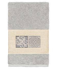 100% Turkish Cotton Vivian Embellished Hand Towel