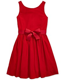 Big Girls Cotton Corduroy Dress, Created For Macy's
