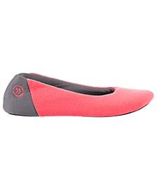 Women's Microterry Mesh Ballet Slippers