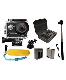 Super Bundle True 1080P Action Camera with Accessories