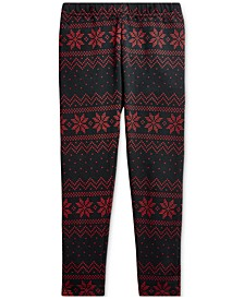 Toddler Girls Fair Isle Jersey Legging