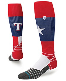 Texas Rangers Diamond Pro Team Socks