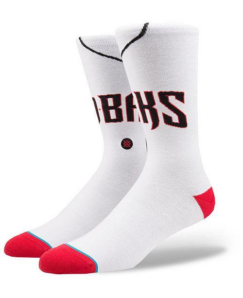 Stance Arizona Diamondbacks Home Jersey Series Crew Socks